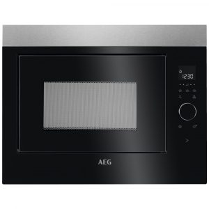 AEG MBE2658SEM 60cm Built In Microwave For Tall Housing – STAINLESS STEEL