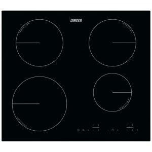 Zanussi ZIT6460CB 59cm Frameless Induction Hob – BLACK