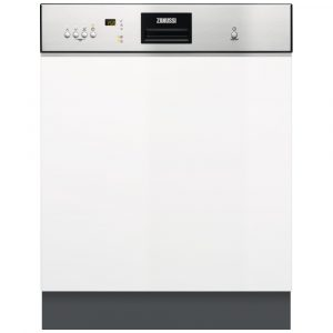 Zanussi ZDI26022XA 60cm Semi Integrated Dishwasher – STAINLESS STEEL