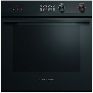 Fisher Paykel OB60SD11PB1 Built In Multifunction Pyrolytic Single Oven – BLACK STEEL
