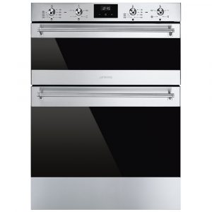 Smeg DUSF6300X Built Under Classic Double Oven – STAINLESS STEEL