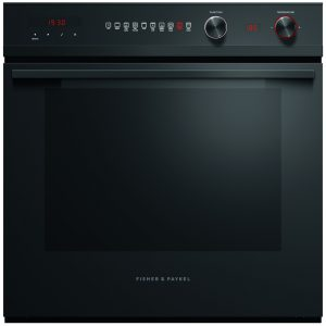 Fisher Paykel OB60SD9PB1 Built In Multifunction Pyrolytic Single Oven – BLACK STEEL