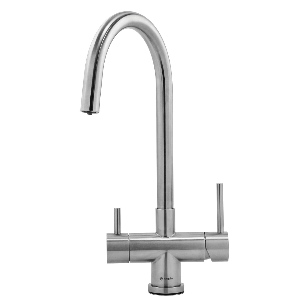 Image of Caple DALPUR2/SS Dalton Puriti 2 Lever Filter Tap - STAINLESS STEEL
