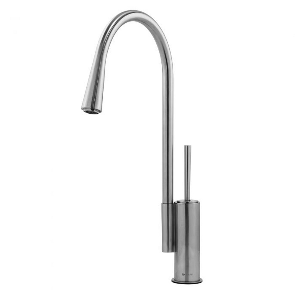 Image of Caple COR/SS Cory Single Lever Tap - STAINLESS STEEL