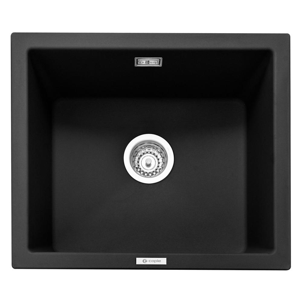 Image of Caple LEE600AN Leesti 600 Single Bowl Sink - ANTHRACITE