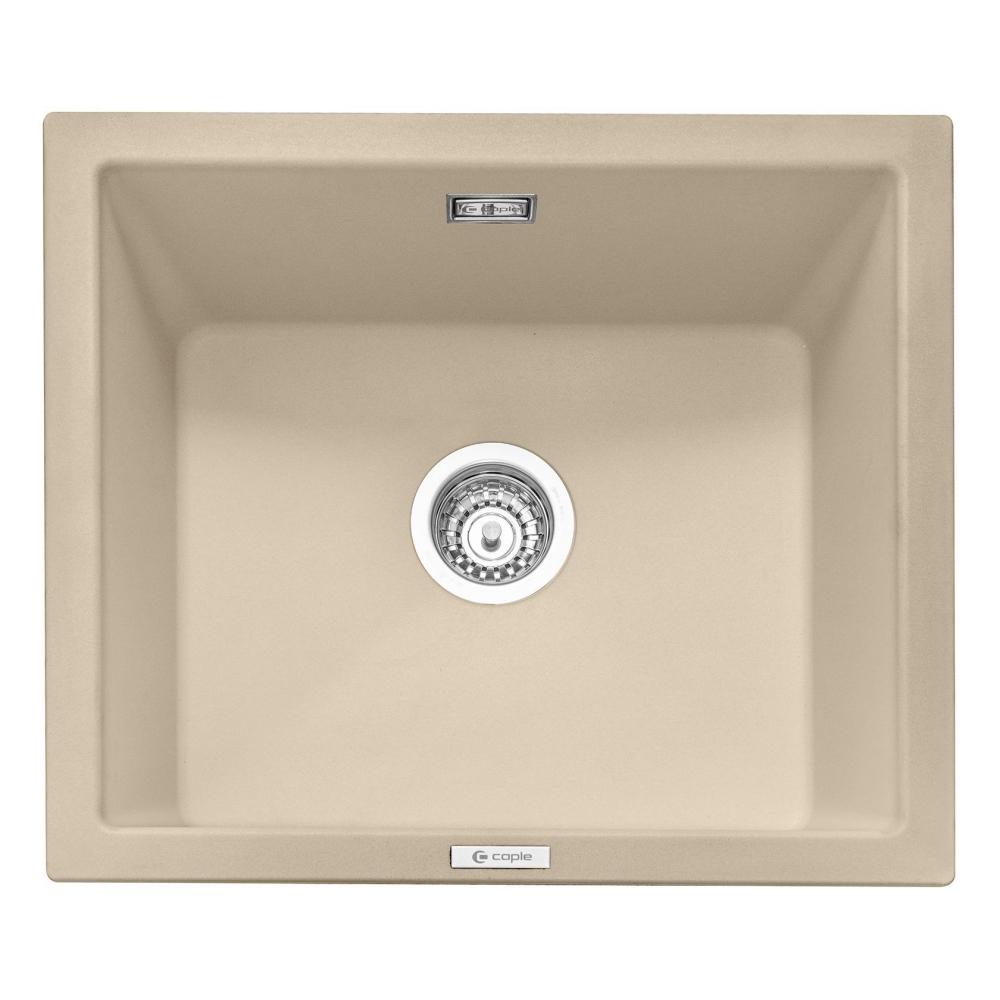 Image of Caple LEE600DS Leesti 600 Single Bowl Sink - DESERT SAND
