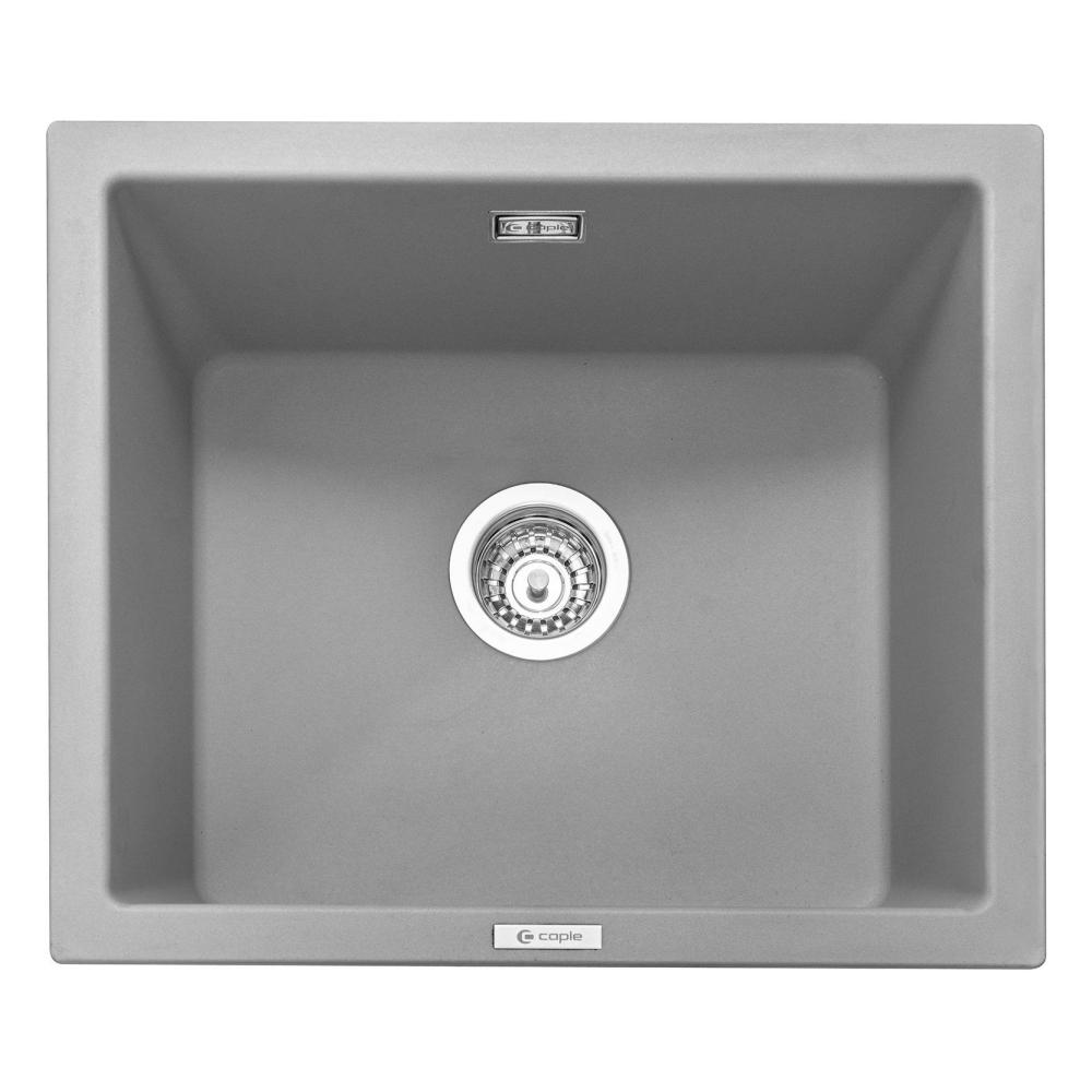 Image of Caple LEE600PG Leesti 600 Single Bowl Sink - GREY
