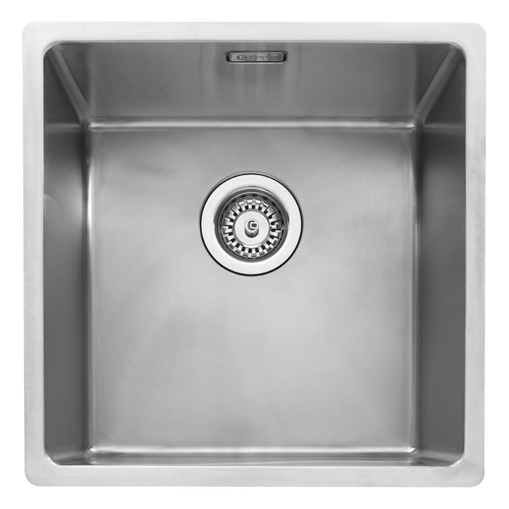 Image of Caple MODE040 Mode 40 Single Bowl Sink - STAINLESS STEEL