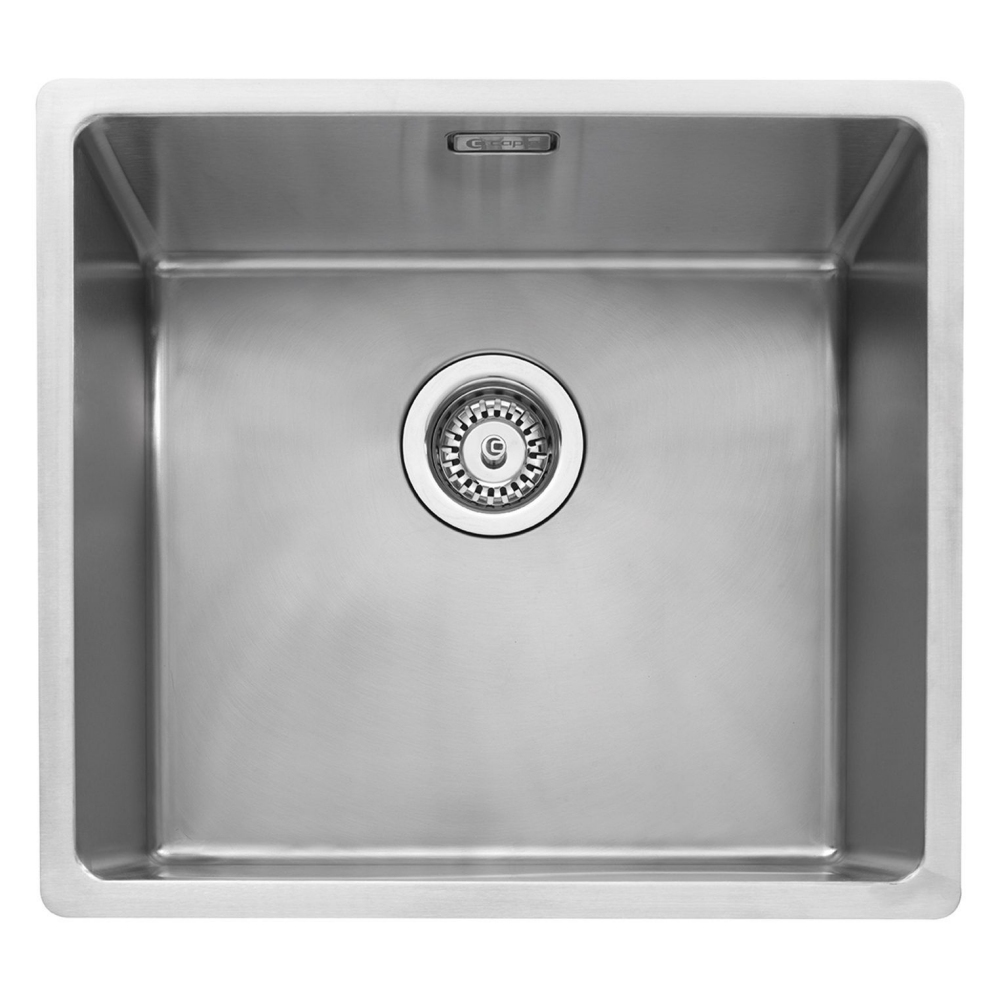 Image of Caple MODE045 Mode 45 Single Bowl Sink - STAINLESS STEEL