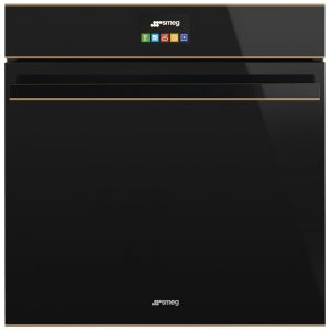 Smeg SFP6604NRE Dolce Stil Novo Pyrolytic Multifunction Single Oven – BLACK