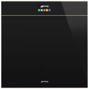 Smeg SFP6604PNRE Dolce Stil Novo Pyrolytic Multifunction Single Oven – BLACK