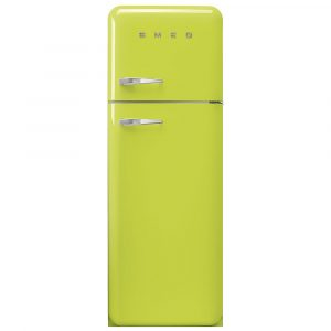 Smeg FAB30RLI3 Retro Fridge Freezer Right Hand Hinge – LIME GREEN
