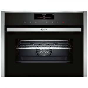 Neff C18FT56H0B Compact Steam Combination Oven – STAINLESS STEEL