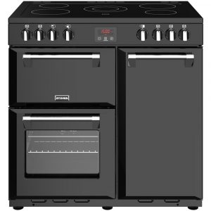 Stoves BELMONT 900EBLK Belmont 90cm Electric Range Cooker – BLACK