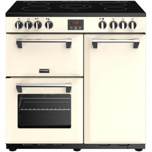 Stoves BELMONT 900ECRM Belmont 90cm Electric Range Cooker – CREAM