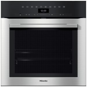 Miele H7364BP Built In Pyrolytic Multifunction Single Oven – STAINLESS STEEL