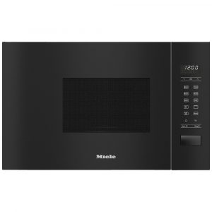 Miele M2234SC 60cm Built In Microwave & Grill For Wall Unit – BLACK