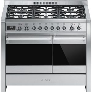 Smeg A2-81 100cm 'Opera' Dual Fuel Range Cooker – STAINLESS STEEL