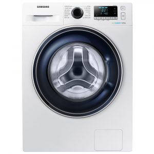 Samsung WW80J5555FAW 8kg Ecobubble Washing Machine 1400rpm – WHITE