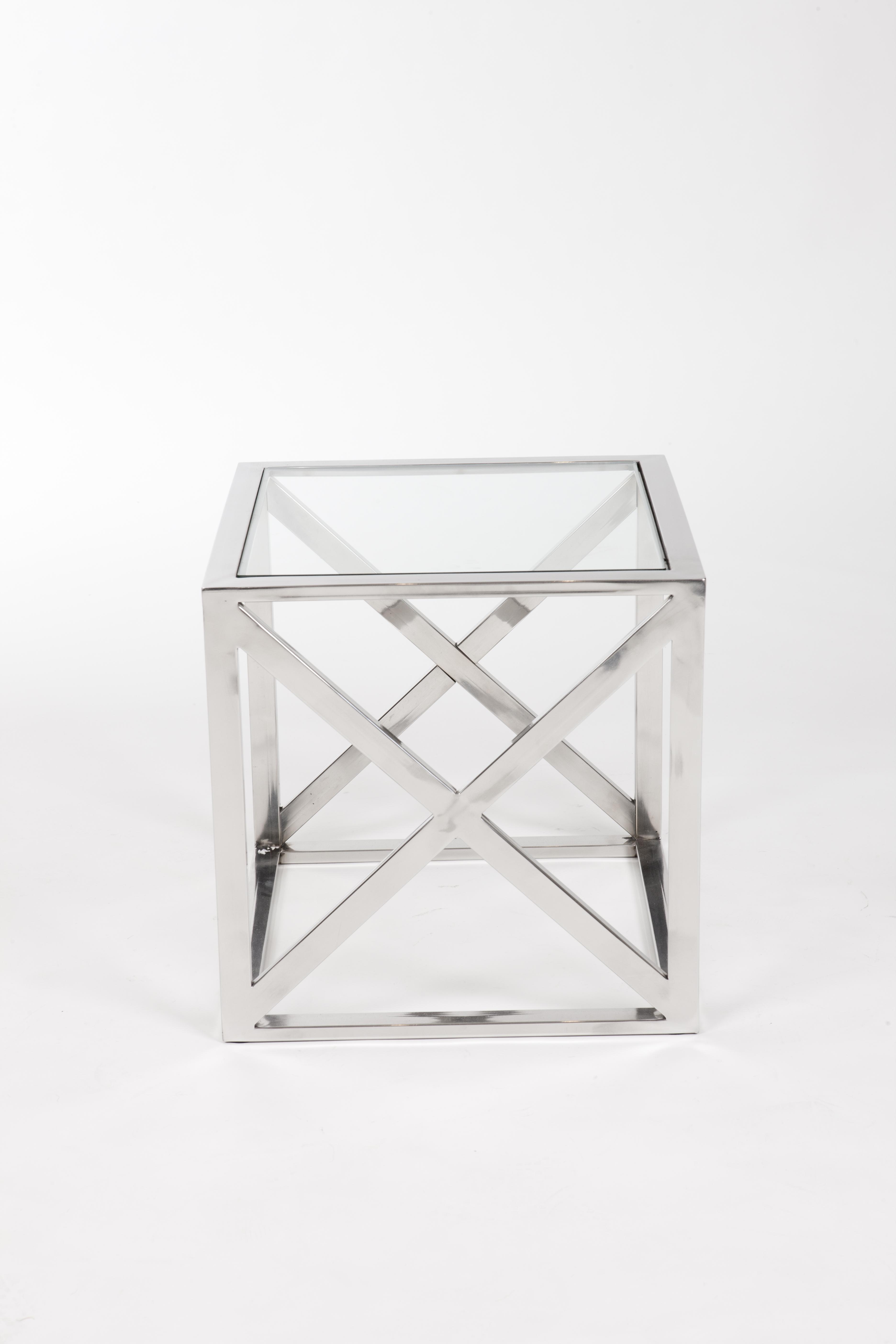CROSS SIDE TABLE-28350