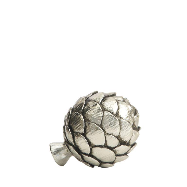 Decorative silver Artichoke small-0