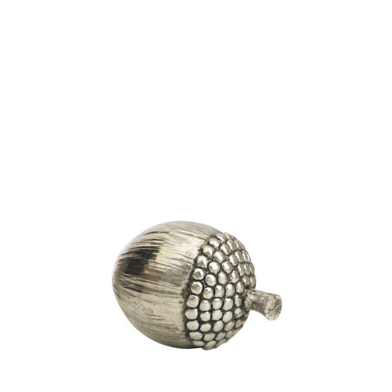 Decorative silver Acorn small-0