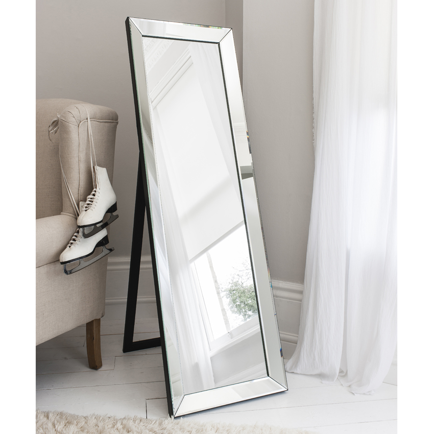 Trinity Tall Free Standing Dressing Mirror-0