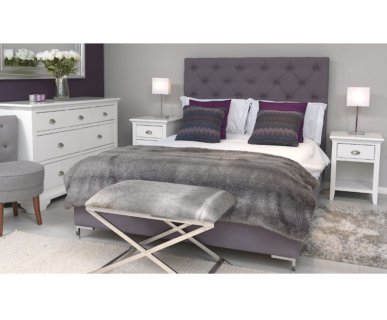MERIBEL DOUBLE BED-29948