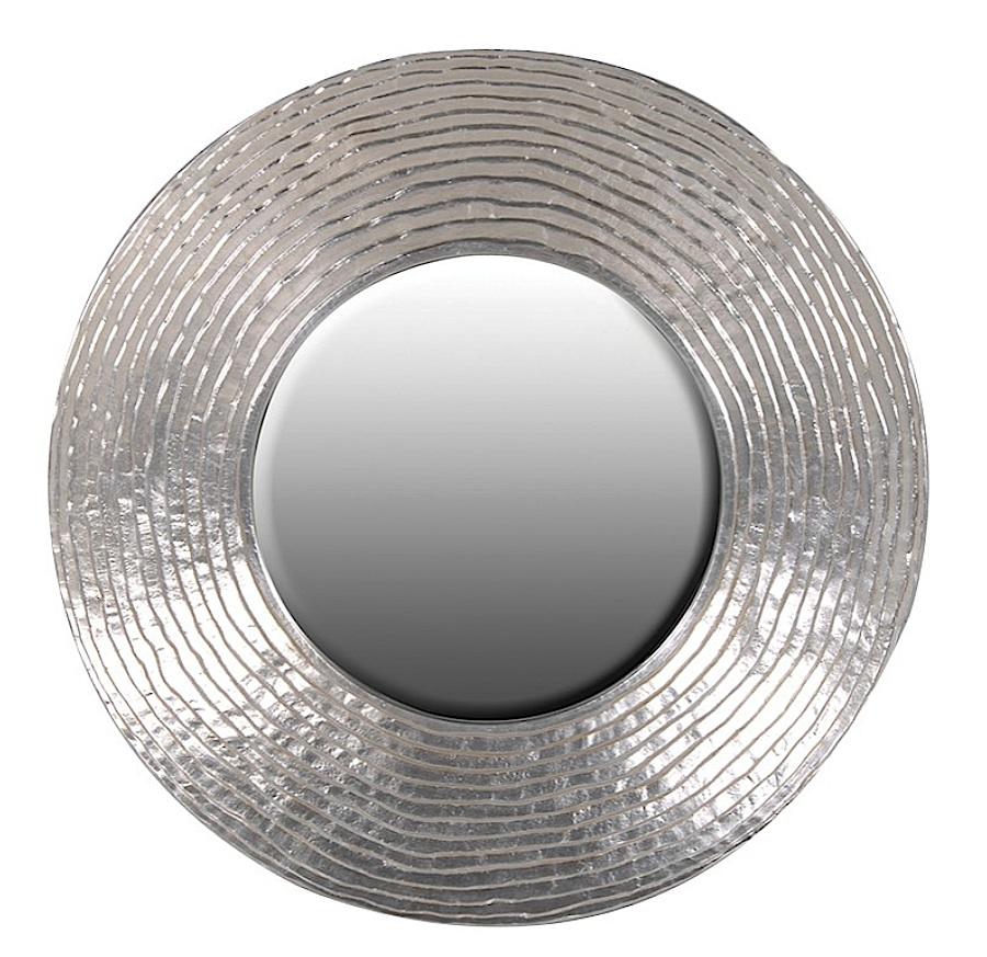 MASSIMO SILVER CIRCLE MIRROR-0