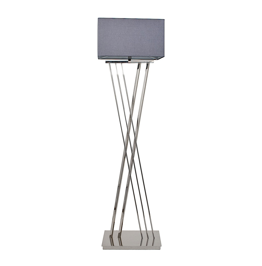 LOMBARDIA TALL STANDING LAMP WITH SHADE-0