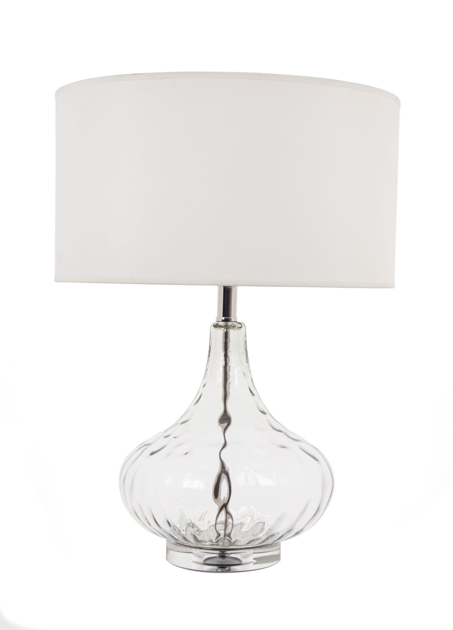 CONTI GLASS TABLE LAMP WITH SHADE-0