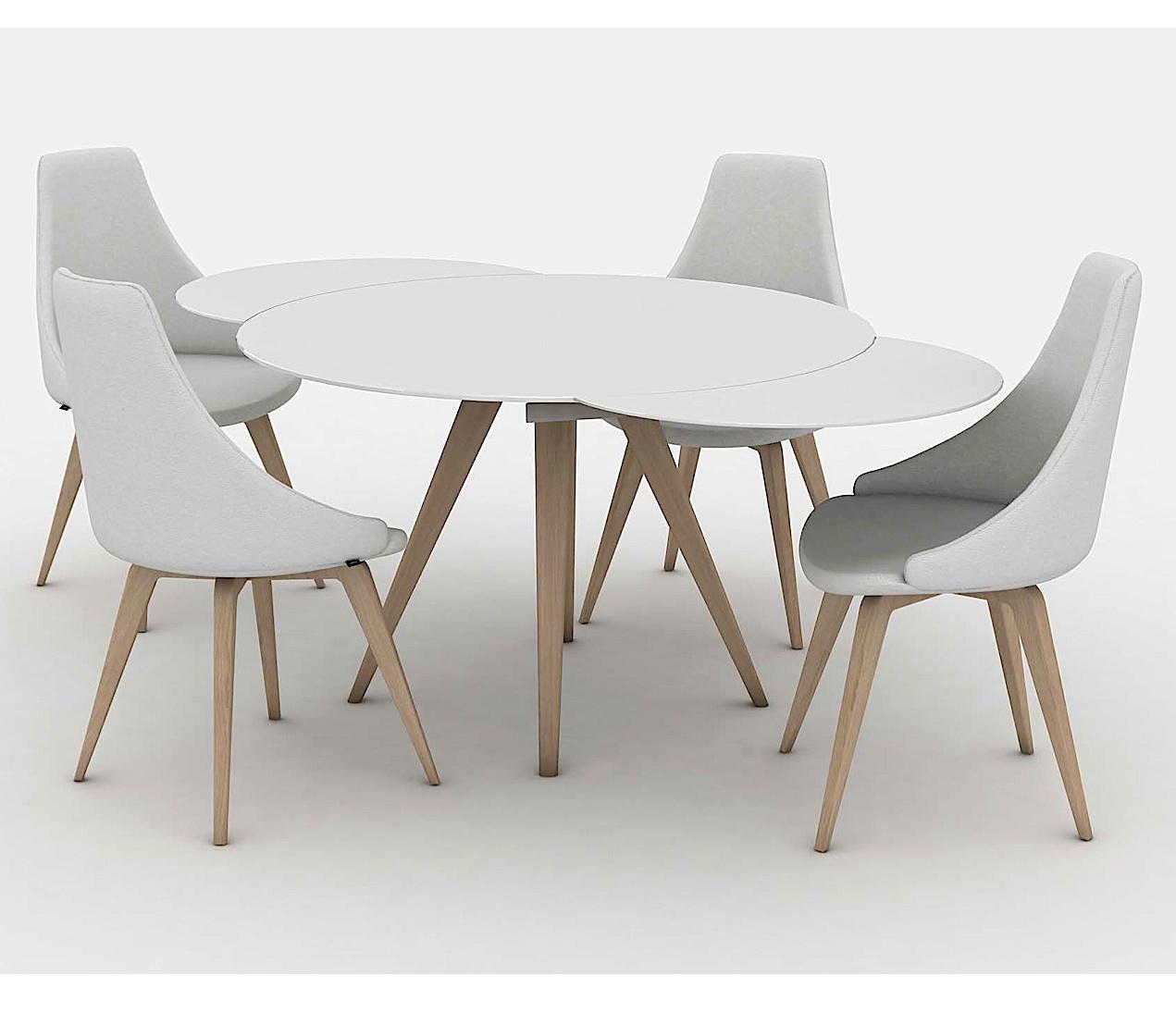 Elan Legno Round Extending Dining Table-33120