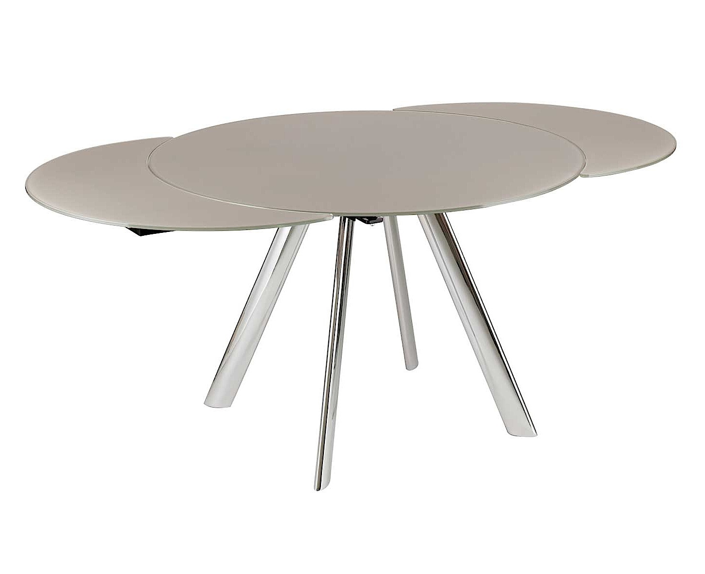 Elan Metallo Round Extending Dining Table-33126