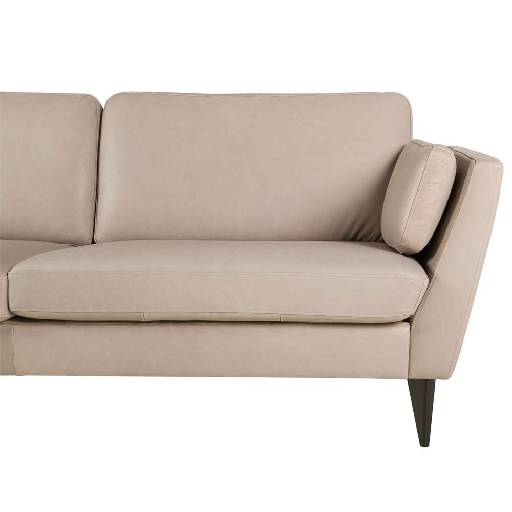 Ravenna Italian leather three seater Sofa-33539