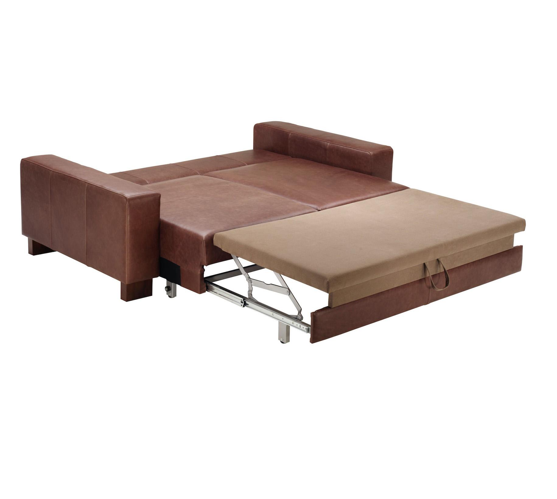 Lantana Italian Leather Sofabed-33749