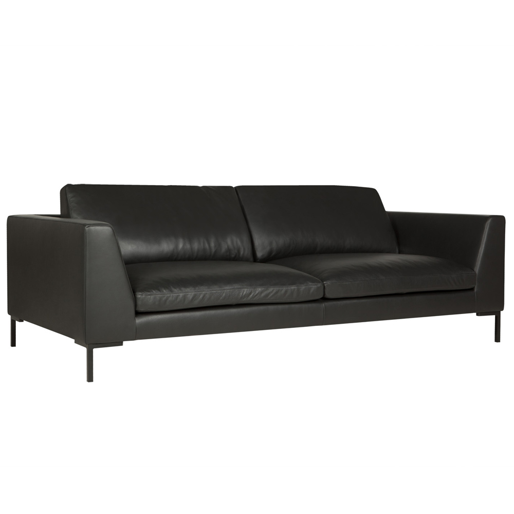 Osaka italian leather 2 Seater Sofa-0