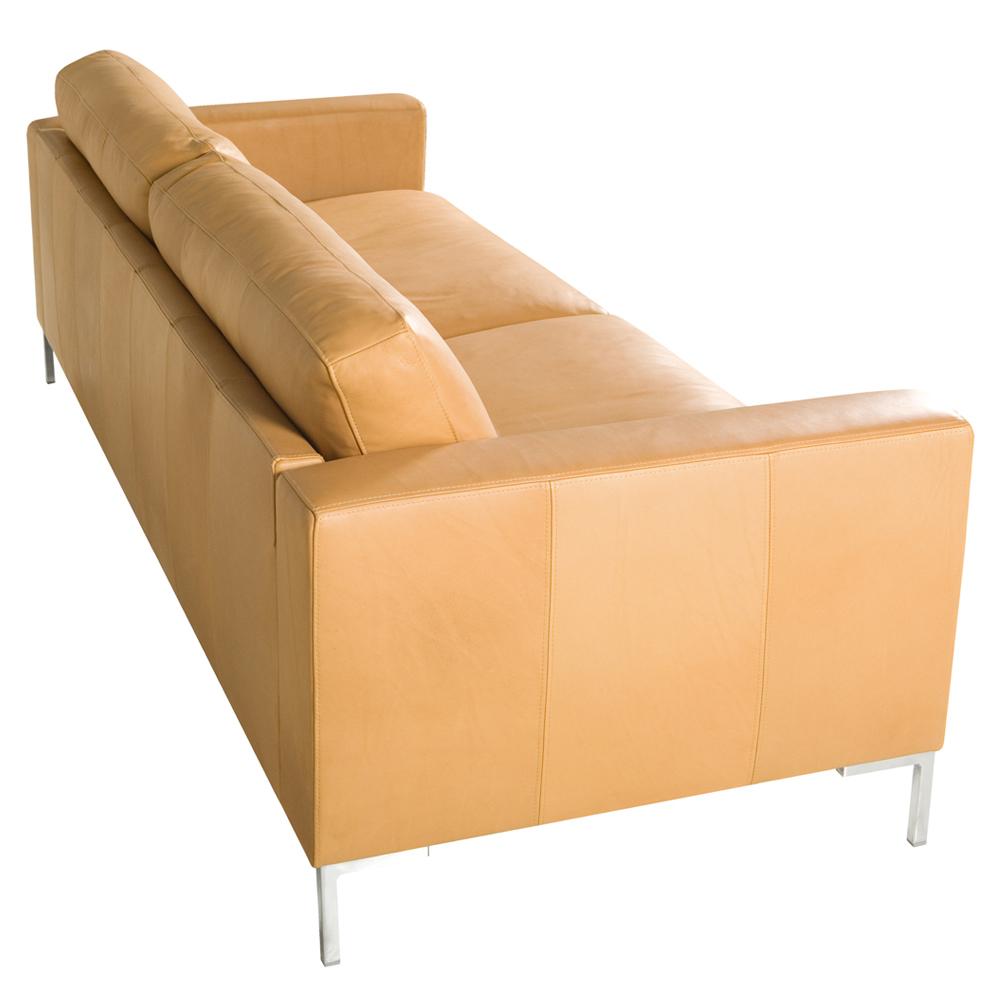 Meridian italian leather 2 Seater Sofa-33370