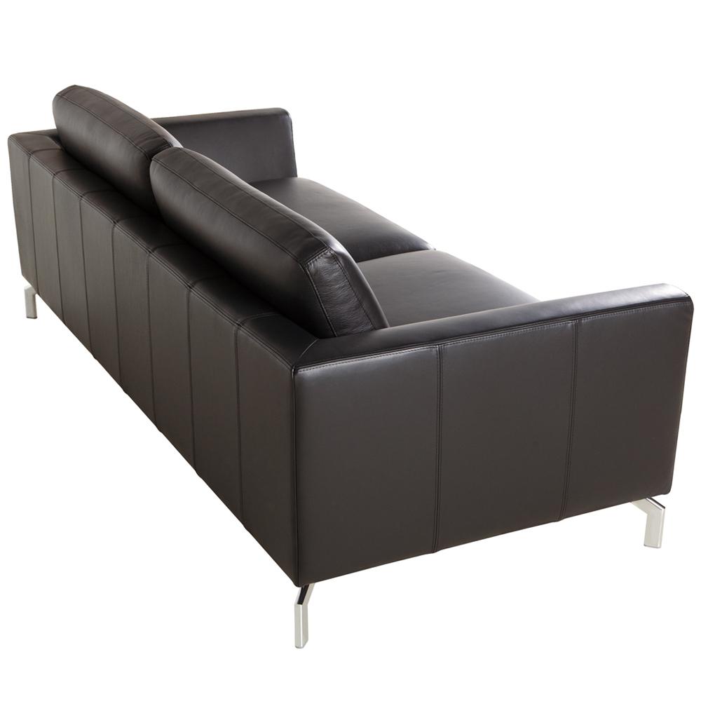 Allegra Italian leather 2 Seater Sofa-33485