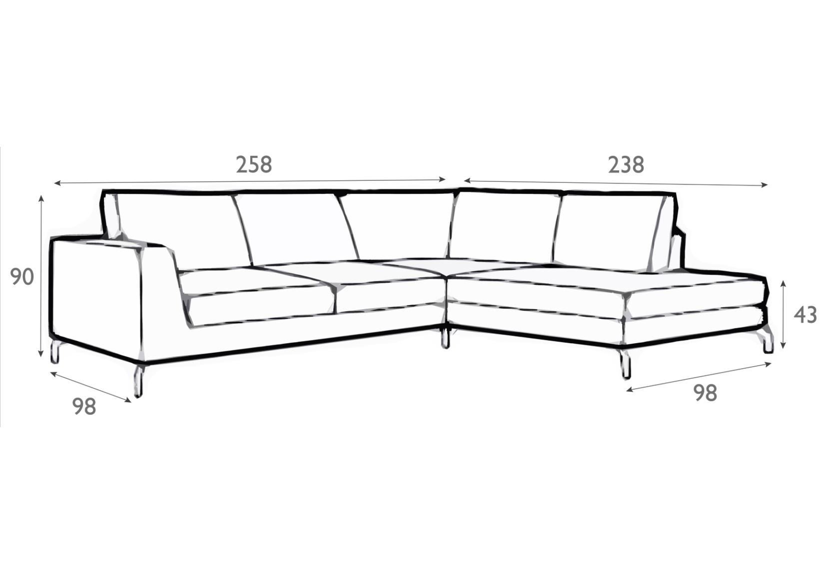 Allegra Italian leather Corner Sofa With Divan-0