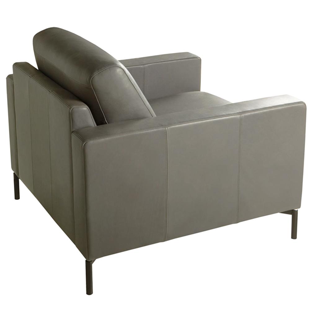 Lantana Italian Leather Armchair-0