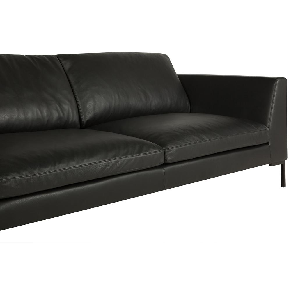 Osaka italian leather 2 Seater Sofa-33403