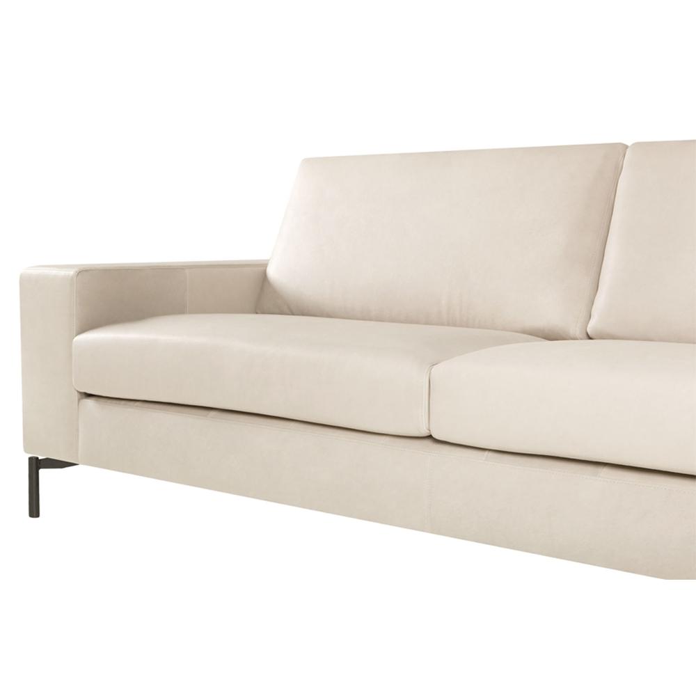 Lantana Italian Leather Three Seater Sofa-33453