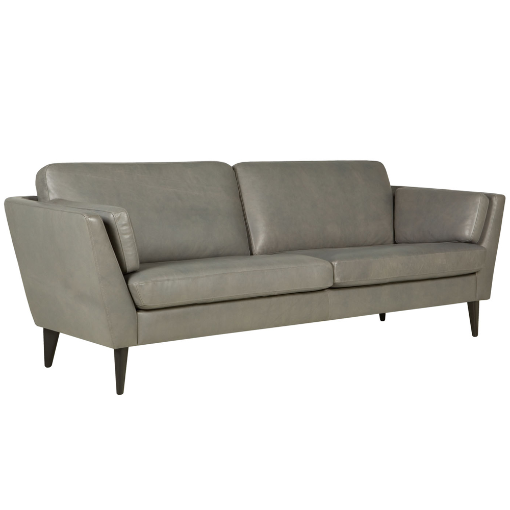 Ravenna italian leather two Seater Sofa-0