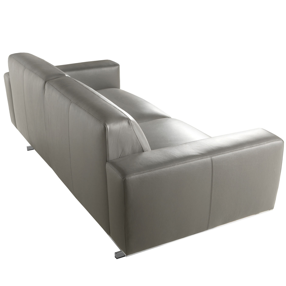 Mathis Italian Leather Three Seater-33582