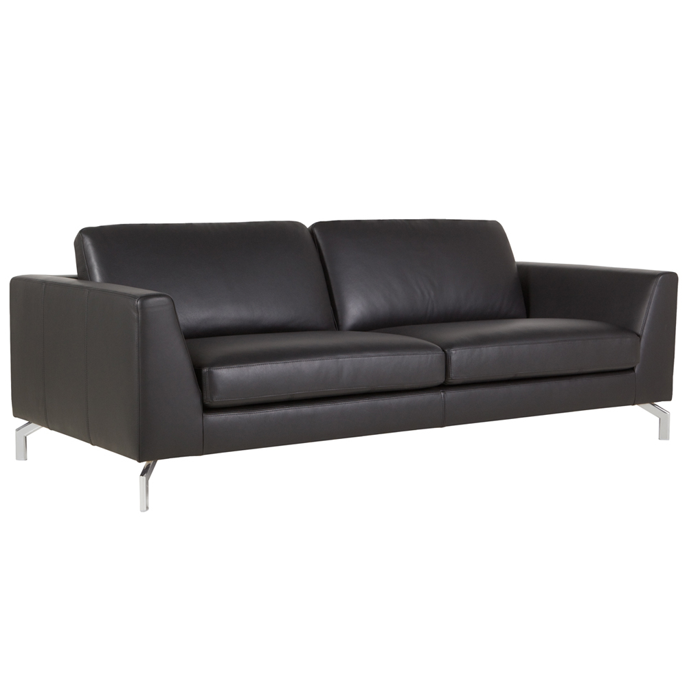 Allegra Italian leather 3 Seater Sofa-0