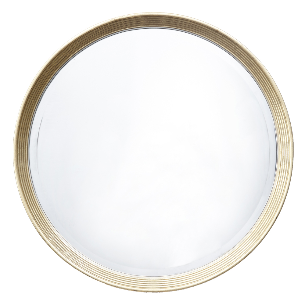 ALANA LIGHT ANTIQUE BRASS ROUND MIRROR-0