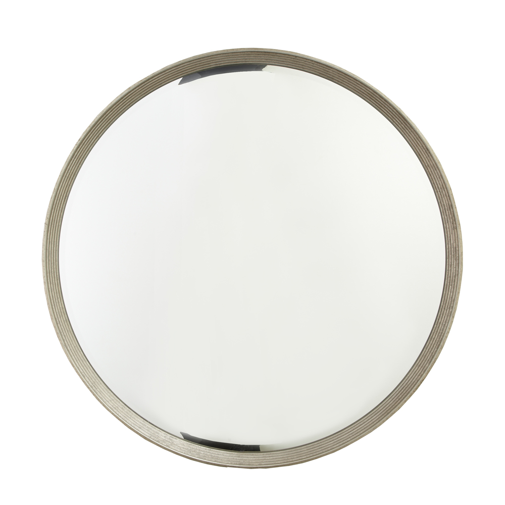 FALLON ANTIQUE SILVER MIRROR-0