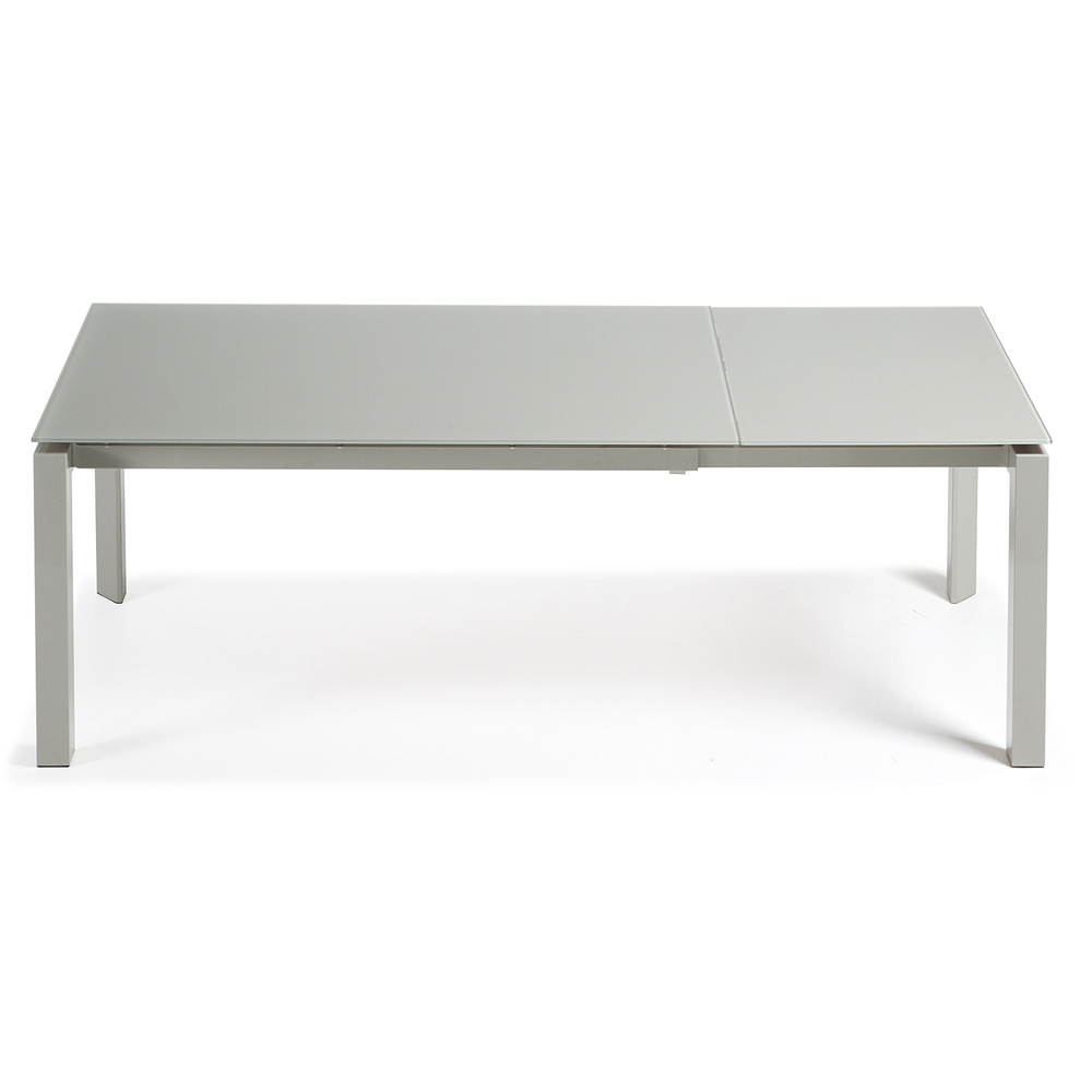 SANTINO GREY EXTENDABLE DINING TABLE SMALL -0
