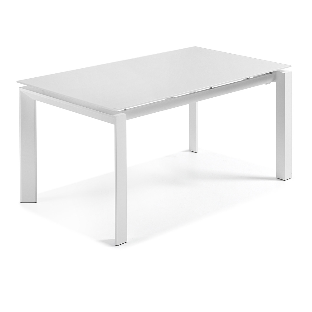 SANTINO WHITE EXTENDABLE DINING TABLE LARGE-33842