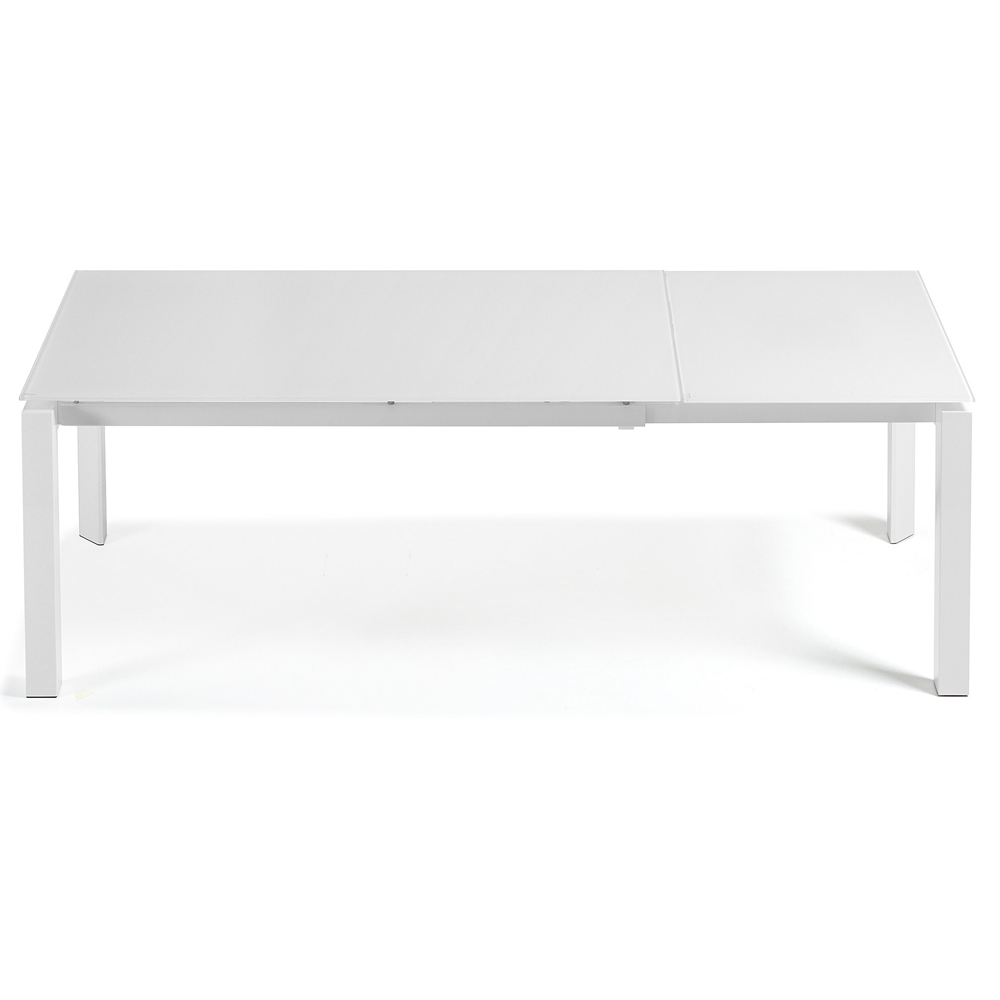 SANTINO WHITE EXTENDABLE DINING TABLE LARGE-33840